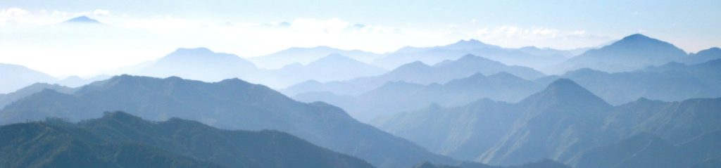 peaceful mountain press